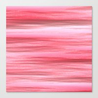 Wet and Pink Canvas Print