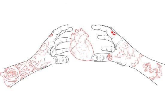 You're grabbing my heart Art Print