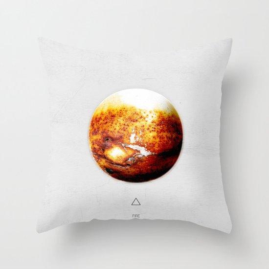 Element: Fire Throw Pillow
