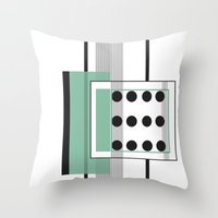 Dominoeffekt Throw Pillow