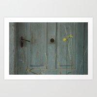 The Door Of Perception Art Print