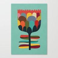 Flower Poet Canvas Print