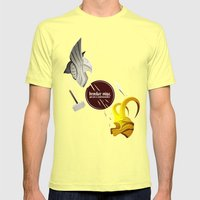 Sentiment Mens Fitted Tee Lemon SMALL