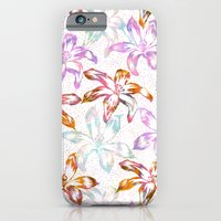 Aztec Sunrise Floral - White iPhone 6 Slim Case