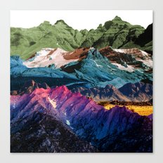 Dream Nature MOUNTAINS Canvas Print