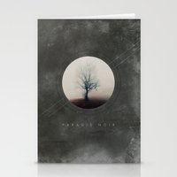 Paradis Noir Stationery Cards