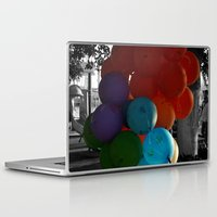 balloon Laptop & iPad Skins featuring balloon by gzm_guvenc