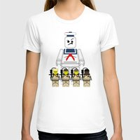 Ghostbusters  Womens Fitted Tee White SMALL