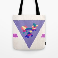 Play Time Over Tote Bag