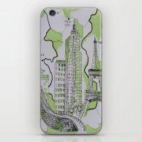 The World Traveler iPhone & iPod Skin