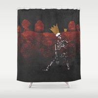 King Nothing Shower Curtain