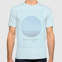 Make Each Day Your Maste… Mens Fitted Tee Light Blue SMALL