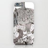Camelia field iPhone 6 Slim Case