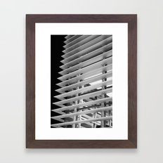 At the Edges Framed Art Print