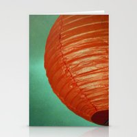Red Globe Stationery Cards