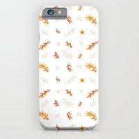 Watercolor autumn iPhone 6 Slim Case