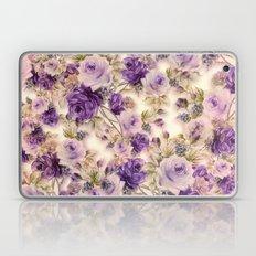 Lovely Purples Roses Laptop & iPad Skin