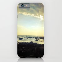 iPhone & iPod Case featuring Sunset Over the Water by Sara Miller
