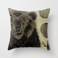 Bear Fruit Throw Pillow