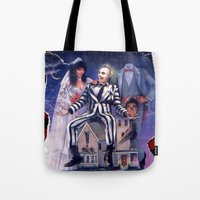 Beetlejuice: Ripped and Torn Greatness! Tote Bag