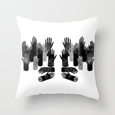 The Forest of Hands Throw Pillow