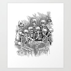 Gathered Remains Art Print