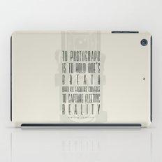 To photograph... iPad Case