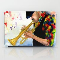 The Colors of Jazz iPad Case