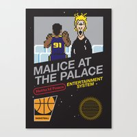 Malice At The Palace Canvas Print