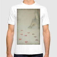 All Along The Promenade Mens Fitted Tee White SMALL