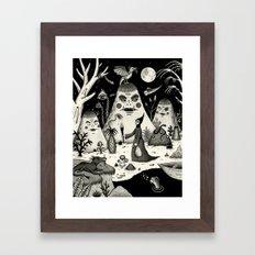 Outcry of the Island Framed Art Print