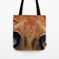 Polyphemus Giant Moth - Wing Detail Tote Bag