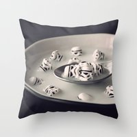 Fortified With Vitamin S Throw Pillow