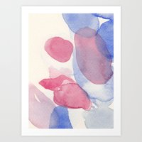 Water And Color 16 Art Print
