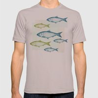 Vintage Fish Mens Fitted Tee Cinder SMALL