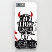 CREATION NEEDS A DEMON iPhone 6 Slim Case