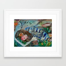 ALEXANDRA Framed Art Print