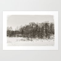 Winter Landscape II Art Print