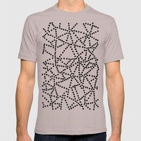 Dots Mens Fitted Tee Cinder SMALL
