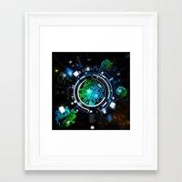 Alien Life Framed Art Print