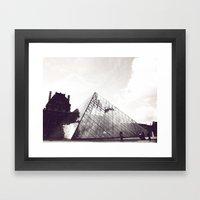 pyramid Framed Art Print