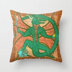 dromóroh, cave Throw Pillow