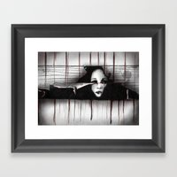Trapped II Framed Art Print