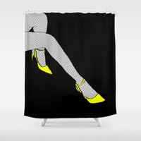 Lost Control Shower Curtain