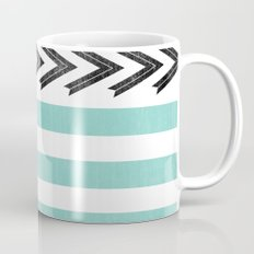 ARROW STRIPE {TEAL} Mug