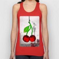 Cherry Americana Unisex Tank Top