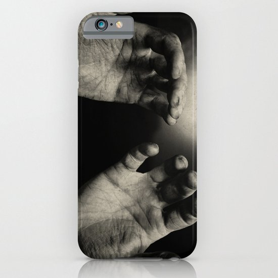 Never let the hand you hold, hold you down iPhone & iPod Case