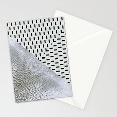 waves/grid #11 Stationery Cards