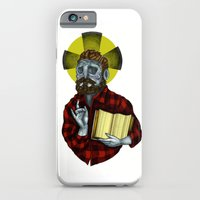 iPhone & iPod Case featuring The Saint by Steven D'Arbenzio