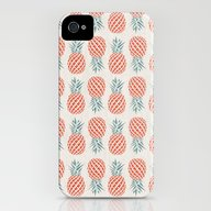 iPhone & iPod Case featuring Pineapple  by Basilique